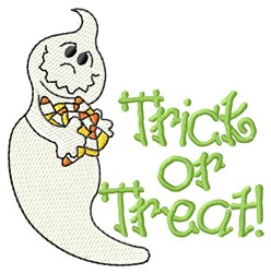 Trick Or Treat! embroidery design