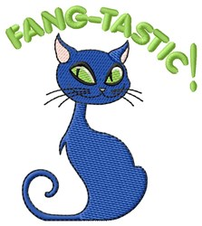 Fang-Tastic Halloween embroidery design