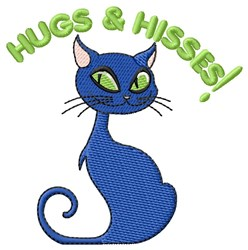 Hus & Hisses Halloween embroidery design