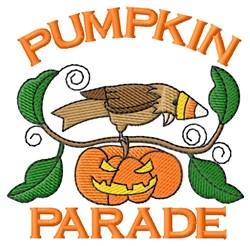 Pumpkin Parade embroidery design