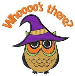 Spooky Halloween Owl embroidery design