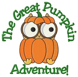 Halloween Pumpkin Adventure embroidery design