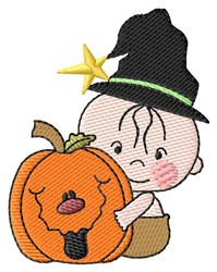 Baby And Jack O embroidery design