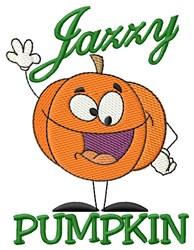 Jack O Halloween embroidery design