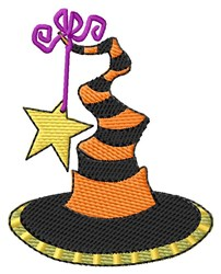 Witchs Hat embroidery design