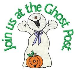 Boo-tiful Ghost embroidery design