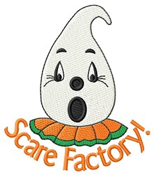 Scare Factory! embroidery design