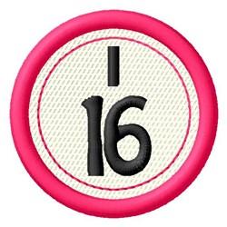Bingo I16 embroidery design