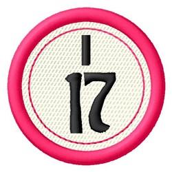 Bingo I17 embroidery design