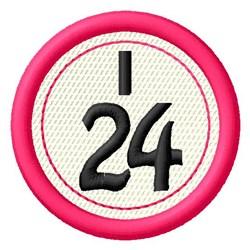 Bingo I24 embroidery design