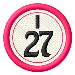 Bingo I27 embroidery design