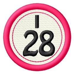 Bingo I28 embroidery design