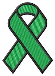Green Ribbon embroidery design