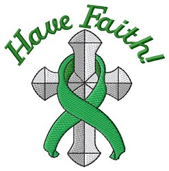 Have Faith! embroidery design