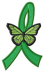 Butterfly Ribbon embroidery design