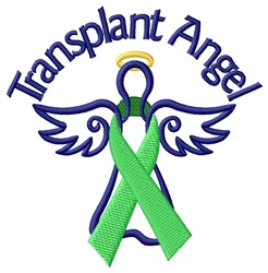 Transplant Angel embroidery design