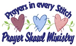 Prayers In Stitch embroidery design