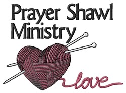 Love Ministry embroidery design
