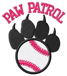 Dog Patrol Baseball embroidery design