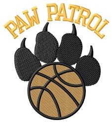 Dog Patrol Basketball embroidery design