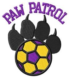 Dog Patrol Soccer embroidery design