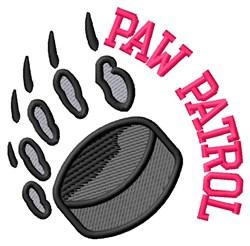 Bear Patrol Hockey embroidery design
