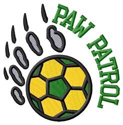 Bear Patrol Soccer embroidery design