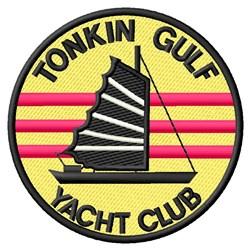 Tonkin Round embroidery design