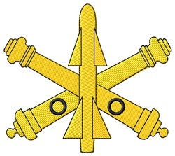 Air Defense Symbol embroidery design