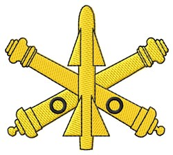 Air Defense Symbol embroidery design
