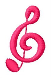 Music G embroidery design