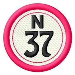 Bingo N37 embroidery design