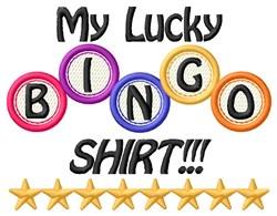Lucky Shirt embroidery design
