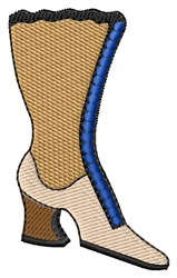 Knee High Boot embroidery design