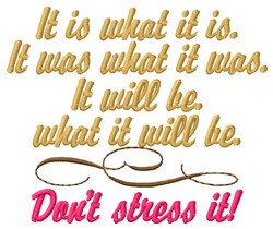 What You Resist Persists embroidery design