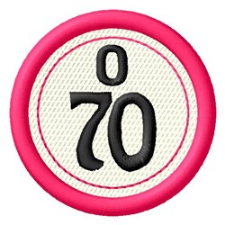 Bingo O70 embroidery design