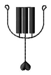 Piano Y embroidery design