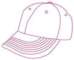 Ball Cap embroidery design