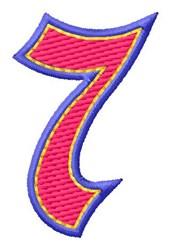 Baseball Font 7 embroidery design