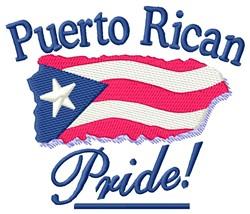 Puerto Rican Pride embroidery design