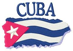 Cuba embroidery design
