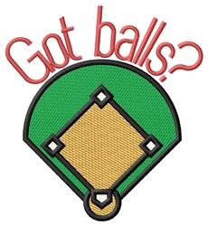 Got Balls embroidery design