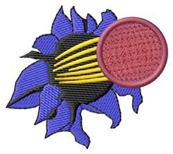 Break Through Kickball embroidery design