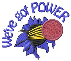 Got Power embroidery design