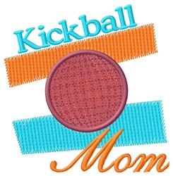 Kickball Mom embroidery design