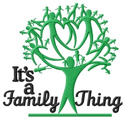 A Family Thing embroidery design
