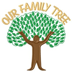 Our Family Tree embroidery design