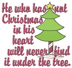 Xmas In the Air embroidery design