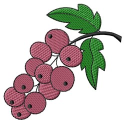 Holly Berries embroidery design