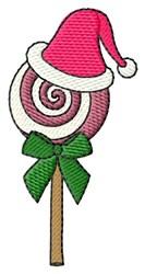Christmas Lollipop embroidery design